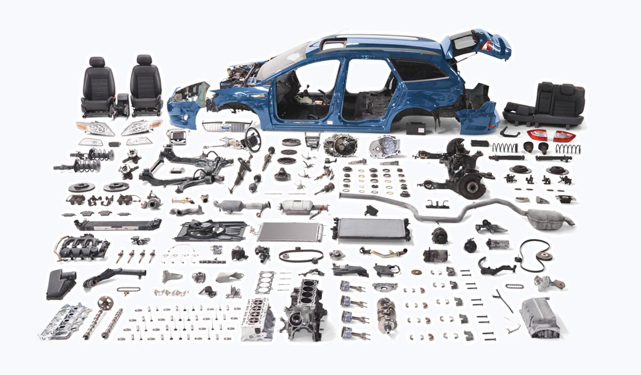 кто производит комплектующие для ford